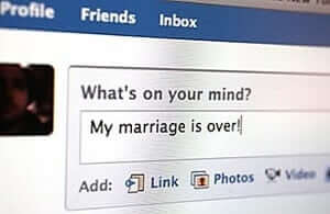 Divorce on Social Media