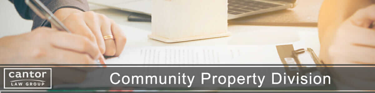 Community Property in a Divorce in Arizona