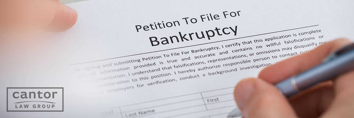 Filing for bankruptcy before or after divorce