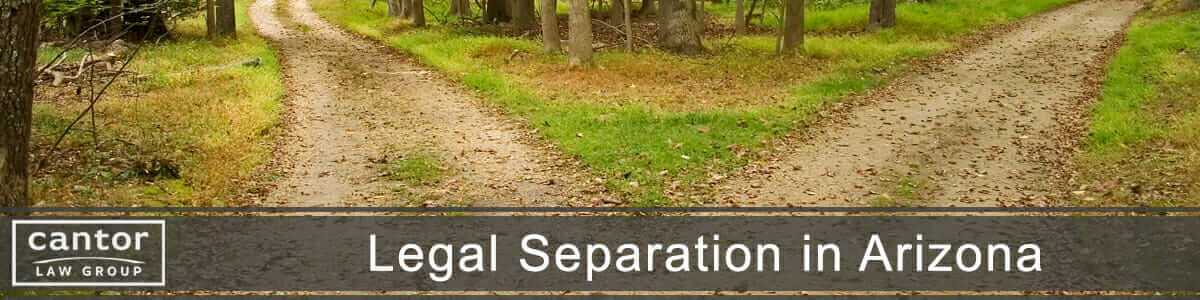 Legal Separation in Arizona
