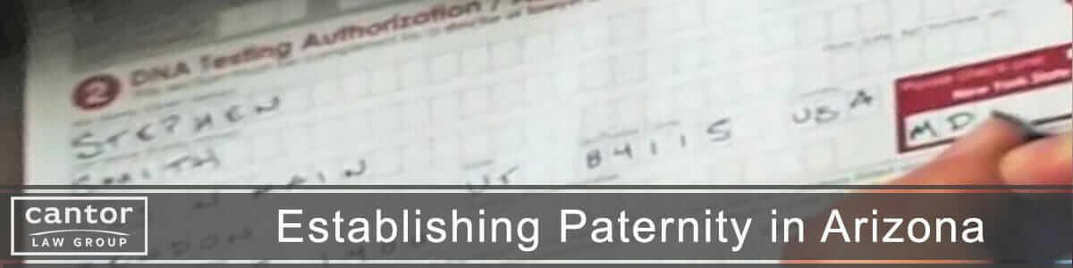 Establishing Paternity Test for Child Custody
