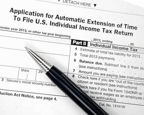 Filing Tax Extension During Divorce